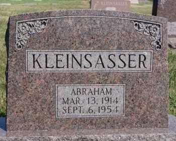 KLEINSASSER, ABRAHAM - Hutchinson County, South Dakota | ABRAHAM KLEINSASSER - South Dakota Gravestone Photos