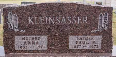 KLEINSASSER, ANNA - Hutchinson County, South Dakota | ANNA KLEINSASSER - South Dakota Gravestone Photos