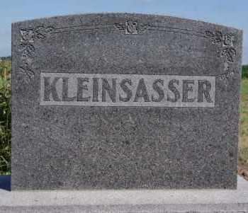 KLEINSASSER, FAMILY  MARKER - Hutchinson County, South Dakota   FAMILY  MARKER KLEINSASSER - South Dakota Gravestone Photos
