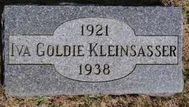 KLEINSASSER, IVA GOLDIE - Hutchinson County, South Dakota | IVA GOLDIE KLEINSASSER - South Dakota Gravestone Photos