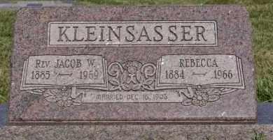 KLEINSASSER, JACOB W - Hutchinson County, South Dakota | JACOB W KLEINSASSER - South Dakota Gravestone Photos