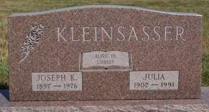 KLEINSASSER, JULIA - Hutchinson County, South Dakota | JULIA KLEINSASSER - South Dakota Gravestone Photos