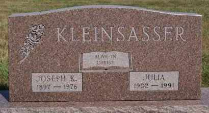 KLEINSASSER, JOSEPH K - Hutchinson County, South Dakota   JOSEPH K KLEINSASSER - South Dakota Gravestone Photos