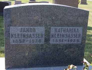 KLEINSASSER, KATHARINA - Hutchinson County, South Dakota | KATHARINA KLEINSASSER - South Dakota Gravestone Photos