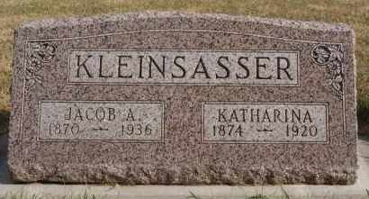 KLEINSASSER, JACOB A - Hutchinson County, South Dakota | JACOB A KLEINSASSER - South Dakota Gravestone Photos