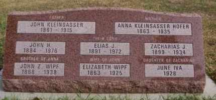 WIPF, JOHN Z - Hutchinson County, South Dakota | JOHN Z WIPF - South Dakota Gravestone Photos
