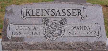 KLEINSASSER, WANDA - Hutchinson County, South Dakota | WANDA KLEINSASSER - South Dakota Gravestone Photos