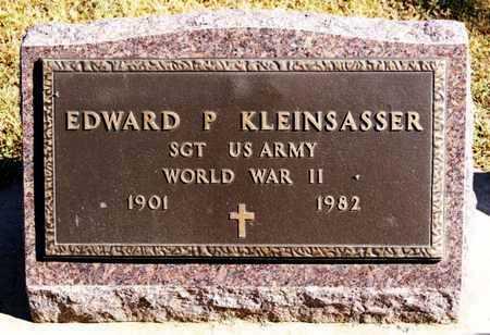 KLEINSASSER, EDWARD P (WWII) - Hutchinson County, South Dakota | EDWARD P (WWII) KLEINSASSER - South Dakota Gravestone Photos