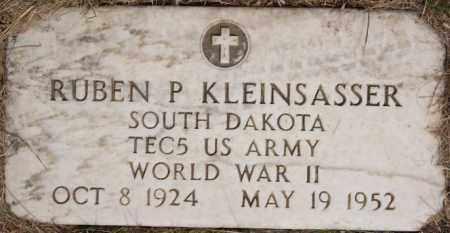 KLEINSASSER, RUBEN P (WWII) - Hutchinson County, South Dakota   RUBEN P (WWII) KLEINSASSER - South Dakota Gravestone Photos