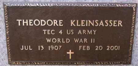 KLEINSASSER, THEODORE (WWII) - Hutchinson County, South Dakota | THEODORE (WWII) KLEINSASSER - South Dakota Gravestone Photos