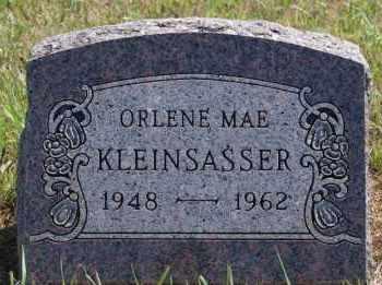 KLEINSASSER, ORLENE MAE - Hutchinson County, South Dakota | ORLENE MAE KLEINSASSER - South Dakota Gravestone Photos
