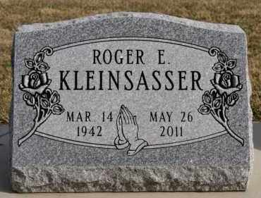 KLEINSASSER, ROGER E - Hutchinson County, South Dakota | ROGER E KLEINSASSER - South Dakota Gravestone Photos
