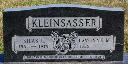 KLEINSASSER, SILAS L - Hutchinson County, South Dakota | SILAS L KLEINSASSER - South Dakota Gravestone Photos