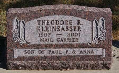KLEINSASSER, THEODORE R - Hutchinson County, South Dakota | THEODORE R KLEINSASSER - South Dakota Gravestone Photos