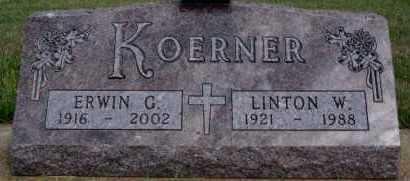 KOERNER, LINTON W - Hutchinson County, South Dakota | LINTON W KOERNER - South Dakota Gravestone Photos