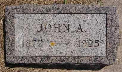 KOERNER, JOHN A - Hutchinson County, South Dakota | JOHN A KOERNER - South Dakota Gravestone Photos