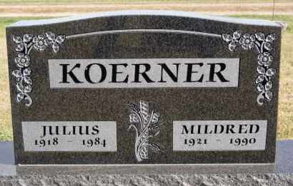 KOERNER, MILDRED - Hutchinson County, South Dakota | MILDRED KOERNER - South Dakota Gravestone Photos