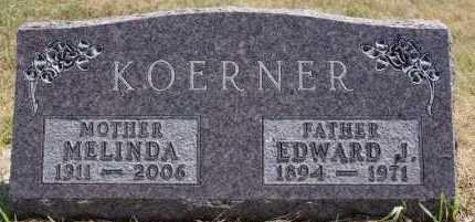 KOERNER, MELINDA - Hutchinson County, South Dakota | MELINDA KOERNER - South Dakota Gravestone Photos