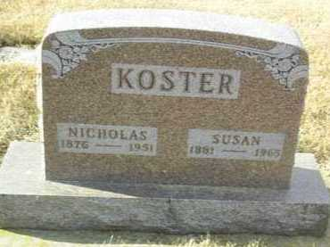 KOSTER, SUSAN - Hutchinson County, South Dakota | SUSAN KOSTER - South Dakota Gravestone Photos