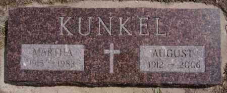 KUNKEL, MARTHA - Hutchinson County, South Dakota | MARTHA KUNKEL - South Dakota Gravestone Photos