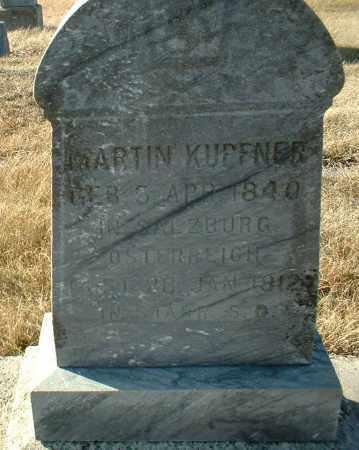 KUPFNER, MARTIN - Hutchinson County, South Dakota   MARTIN KUPFNER - South Dakota Gravestone Photos
