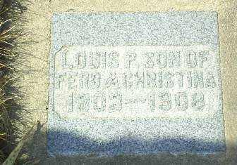 KURTENBACH, LOUIS - Hutchinson County, South Dakota   LOUIS KURTENBACH - South Dakota Gravestone Photos