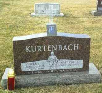 KURTENBACH, VINCENT - Hutchinson County, South Dakota | VINCENT KURTENBACH - South Dakota Gravestone Photos