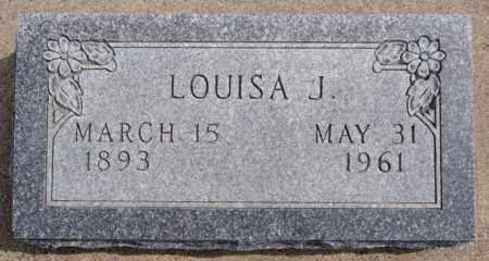 LANGLE, LOUISA J - Hutchinson County, South Dakota   LOUISA J LANGLE - South Dakota Gravestone Photos