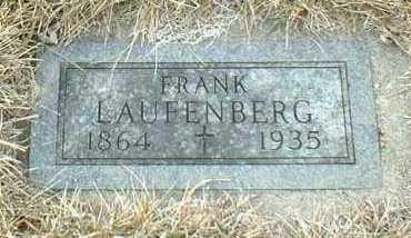 LAUFENBERG, FRANK - Hutchinson County, South Dakota   FRANK LAUFENBERG - South Dakota Gravestone Photos