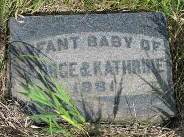 LAYTON, INFANT BABY - Hutchinson County, South Dakota | INFANT BABY LAYTON - South Dakota Gravestone Photos