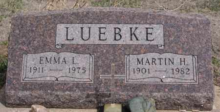 LUEBKE, MARTIN H - Hutchinson County, South Dakota | MARTIN H LUEBKE - South Dakota Gravestone Photos