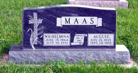 MAAS, WILHELMINA - Hutchinson County, South Dakota | WILHELMINA MAAS - South Dakota Gravestone Photos