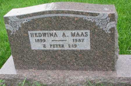MAAS, HEDWINA A. - Hutchinson County, South Dakota | HEDWINA A. MAAS - South Dakota Gravestone Photos