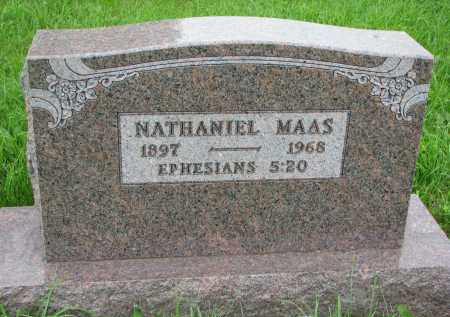MAAS, NATHANIEL - Hutchinson County, South Dakota | NATHANIEL MAAS - South Dakota Gravestone Photos