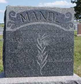 MANDL, SUSANNA - Hutchinson County, South Dakota | SUSANNA MANDL - South Dakota Gravestone Photos