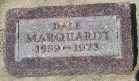 MARQUARDT, DALE - Hutchinson County, South Dakota | DALE MARQUARDT - South Dakota Gravestone Photos