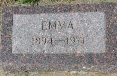 MARQUARDT, EMMA - Hutchinson County, South Dakota | EMMA MARQUARDT - South Dakota Gravestone Photos
