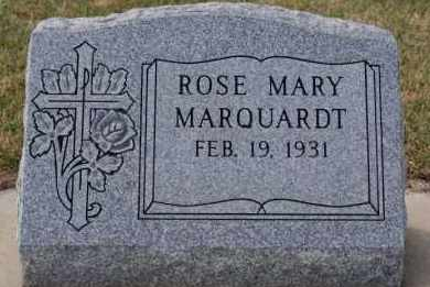 MARQUARDT, ROSE MARY - Hutchinson County, South Dakota | ROSE MARY MARQUARDT - South Dakota Gravestone Photos