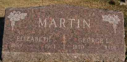 MARTIN, GEORGE L - Hutchinson County, South Dakota | GEORGE L MARTIN - South Dakota Gravestone Photos
