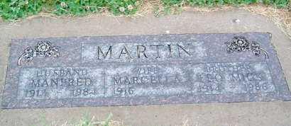 MARTIN, MARCELLA - Hutchinson County, South Dakota | MARCELLA MARTIN - South Dakota Gravestone Photos