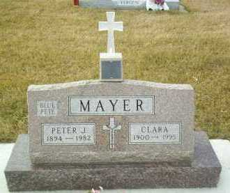 MAYER, CLARA - Hutchinson County, South Dakota | CLARA MAYER - South Dakota Gravestone Photos