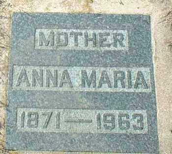 MECHTENBERG, ANNA - Hutchinson County, South Dakota | ANNA MECHTENBERG - South Dakota Gravestone Photos