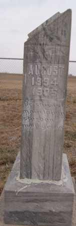 MEHLHAFF, AUGUST - Hutchinson County, South Dakota | AUGUST MEHLHAFF - South Dakota Gravestone Photos