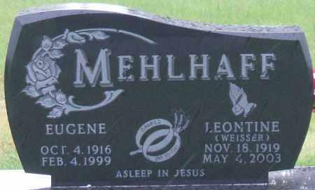MEHLHAFF, EUGENE - Hutchinson County, South Dakota | EUGENE MEHLHAFF - South Dakota Gravestone Photos