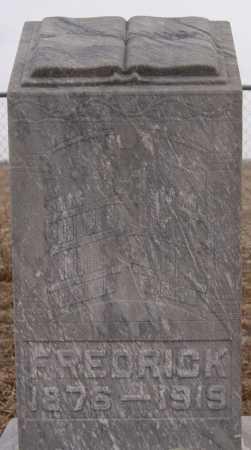 MEHLHAFF, FREDRICK - Hutchinson County, South Dakota | FREDRICK MEHLHAFF - South Dakota Gravestone Photos