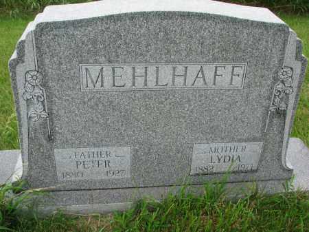 MEHLHAFF, LYDIA - Hutchinson County, South Dakota | LYDIA MEHLHAFF - South Dakota Gravestone Photos