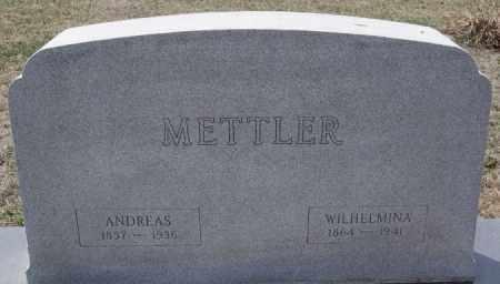 METTLER, ANDREAS - Hutchinson County, South Dakota | ANDREAS METTLER - South Dakota Gravestone Photos