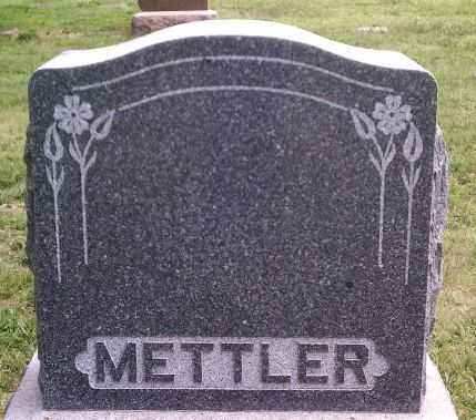 METTLER, FAMILY MARKER - Hutchinson County, South Dakota   FAMILY MARKER METTLER - South Dakota Gravestone Photos
