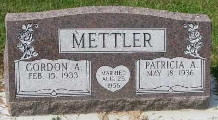 METTLER, PATRICIA A. - Hutchinson County, South Dakota | PATRICIA A. METTLER - South Dakota Gravestone Photos