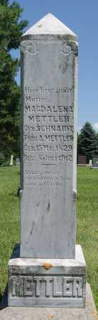 METTLER, MAGDALENA - Hutchinson County, South Dakota   MAGDALENA METTLER - South Dakota Gravestone Photos